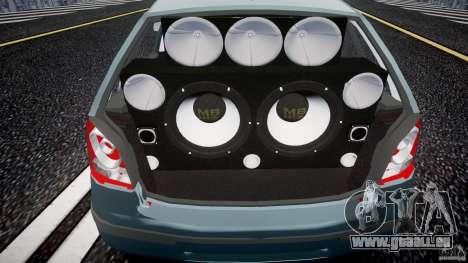 Volkswagen Polo 1998 pour GTA 4 Vue arrière