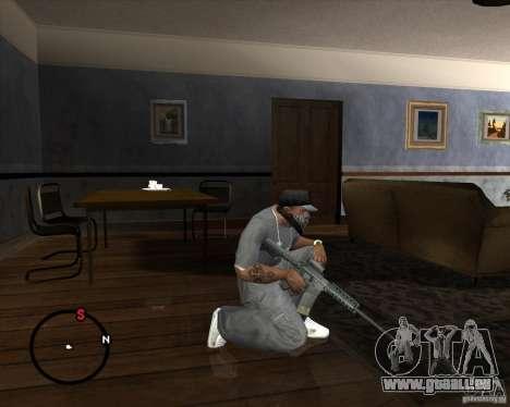 M4A1 SOPMOD pour GTA San Andreas troisième écran