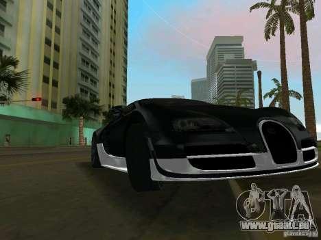 Bugatti Veyron Extreme Sport pour une vue GTA Vice City de la gauche