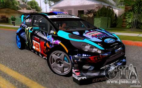 Ford Fiesta 2013 v2.0 pour GTA San Andreas