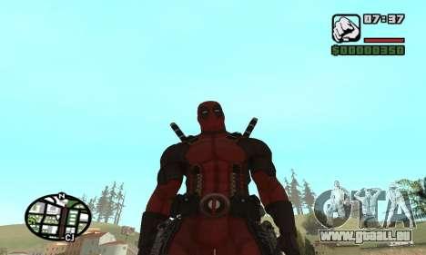 Dead Pool pour GTA San Andreas sixième écran