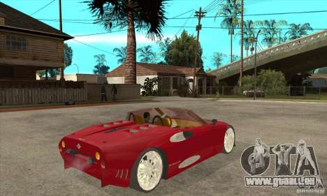 Spyker C8 Spyder für GTA San Andreas rechten Ansicht