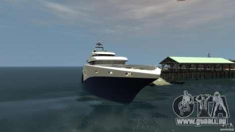 Yacht v1 für GTA 4 linke Ansicht