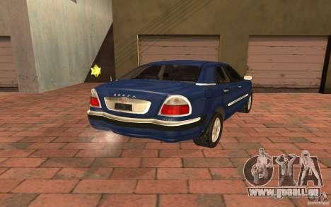 GAZ-3111 pour GTA San Andreas laissé vue