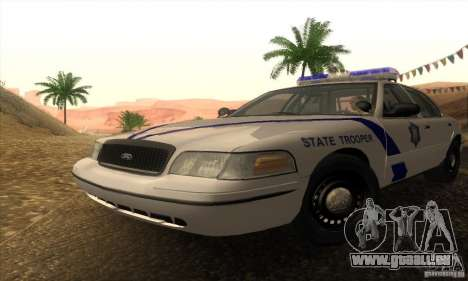 Ford Crown Victoria Arkansas Police für GTA San Andreas