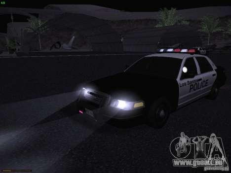 Ford Crown Victoria Police 2003 pour GTA San Andreas vue de côté