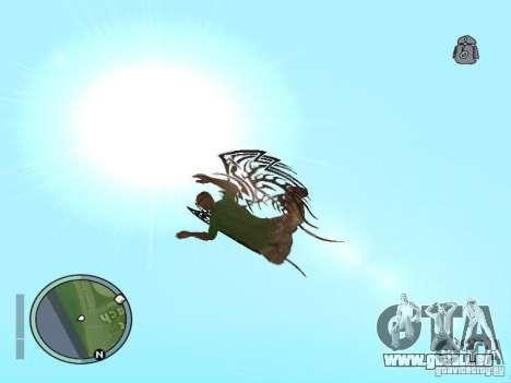 Flügel-Wings für GTA San Andreas her Screenshot