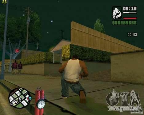Dynamite pour GTA San Andreas quatrième écran