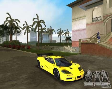 McLaren F1 LM pour une vue GTA Vice City de la droite