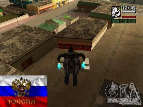Magasins russes derrière la maison de CJ pour GTA San Andreas deuxième écran