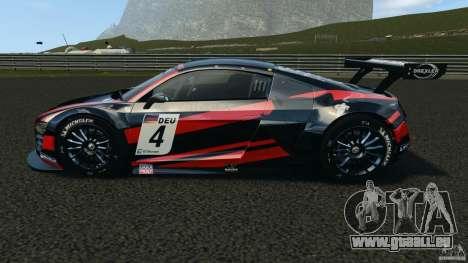 Audi R8 LMS für GTA 4 linke Ansicht