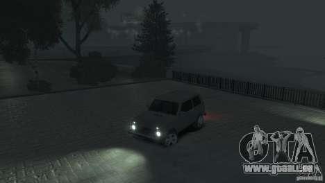 VAZ Niva 21218 für GTA 4 Unteransicht