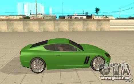 Super GT von GTA 4 für GTA San Andreas linke Ansicht