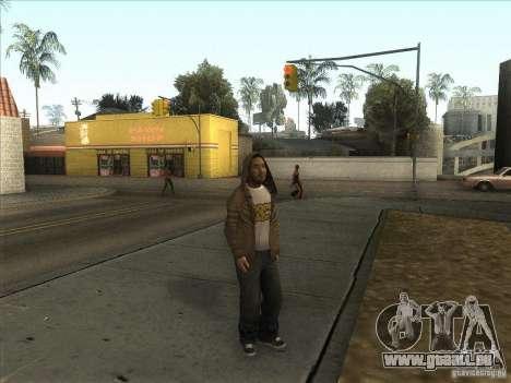 Ryo NFS PS pour GTA San Andreas deuxième écran