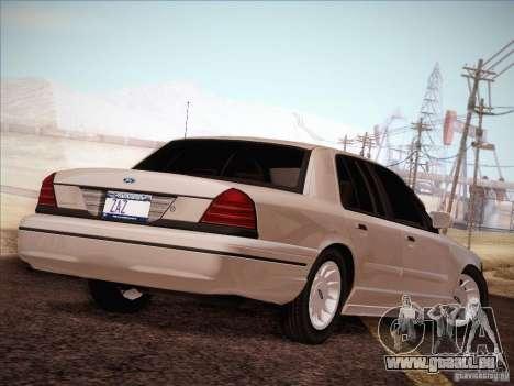 Ford Crown Victoria Interceptor für GTA San Andreas Seitenansicht