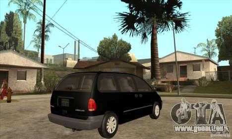 Dodge Caravan 1996 pour GTA San Andreas vue de droite