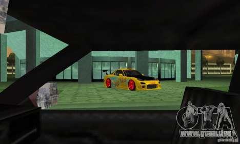 Mazda Rx7 für GTA San Andreas Seitenansicht