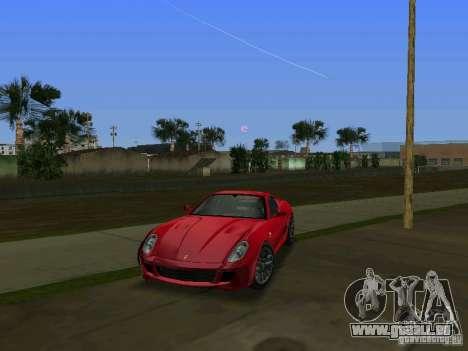 Ferrari 599 GTB pour une vue GTA Vice City de la gauche