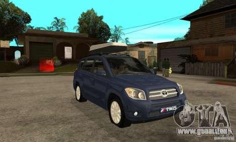 Toyota RAV4 V2 für GTA San Andreas Rückansicht