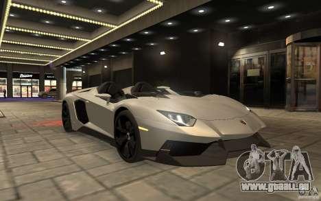 Lamborghini Aventador J pour GTA 4 est un droit