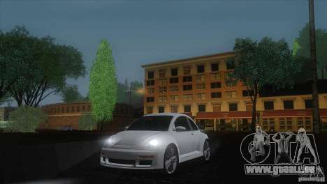 Volkswagen Beetle Tuning pour GTA San Andreas