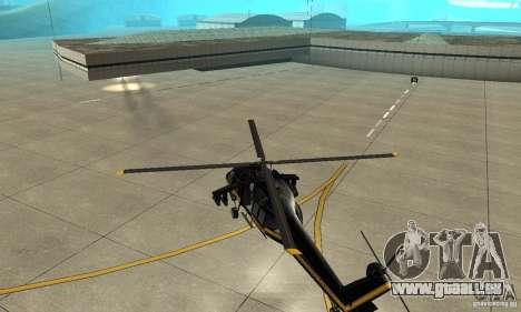Annihilator pour GTA San Andreas vue arrière