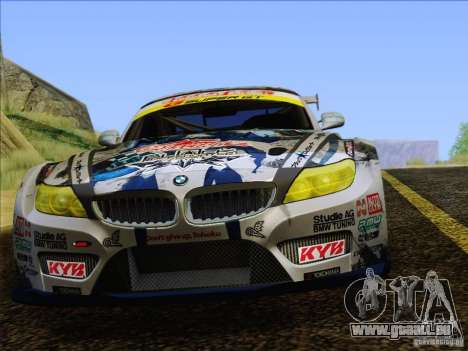 BMW Z4 E89 GT3 2010 Final pour GTA San Andreas salon