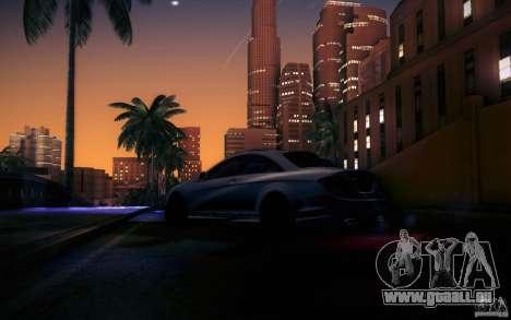 Mercedes Benz CL65 AMG pour GTA San Andreas vue de dessous