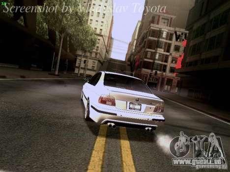 BMW E39 M5 2004 pour GTA San Andreas roue