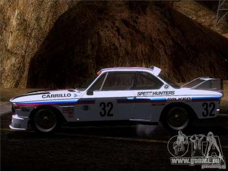 BMW CSL GR4 pour GTA San Andreas vue de dessus