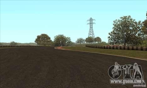 Piste GOKART Route 2 pour GTA San Andreas sixième écran