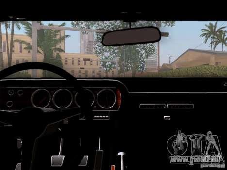 Dodge Challenger HEMI für GTA San Andreas Rückansicht