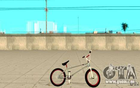 REAL Street BMX mod Chrome Edition für GTA San Andreas linke Ansicht