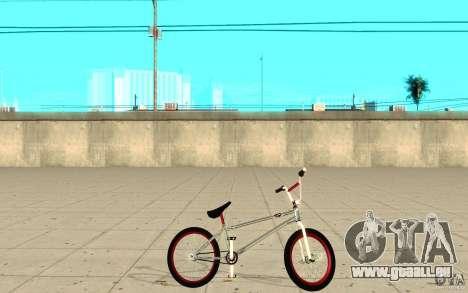REAL Street BMX mod Chrome Edition für GTA San Andreas linke Ansicht
