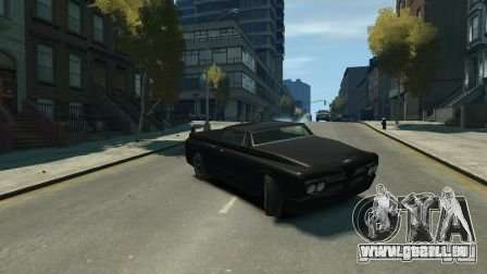 Slamvan für GTA 4 linke Ansicht