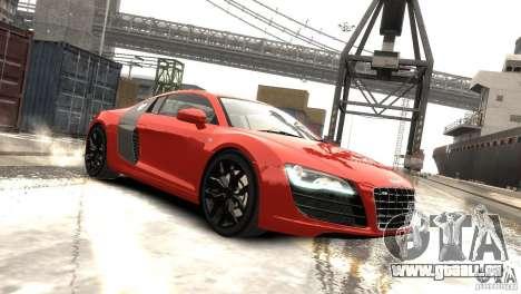 Audi R8 V10 2010 [EPM] pour GTA 4 est une gauche