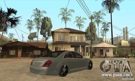 Mercedes Benz Panorama 2011 pour GTA San Andreas vue de droite