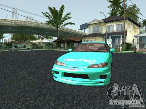 Nissan Silvia S15 Tunable pour GTA San Andreas vue intérieure