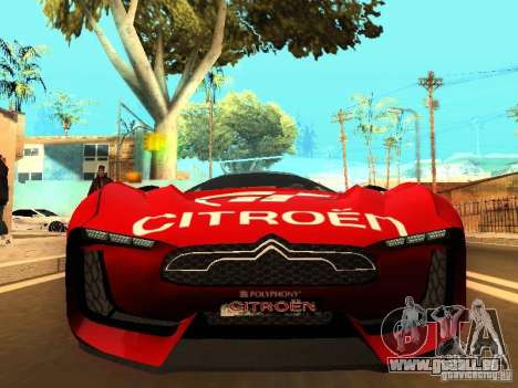 Citroen GT Gran Turismo für GTA San Andreas linke Ansicht