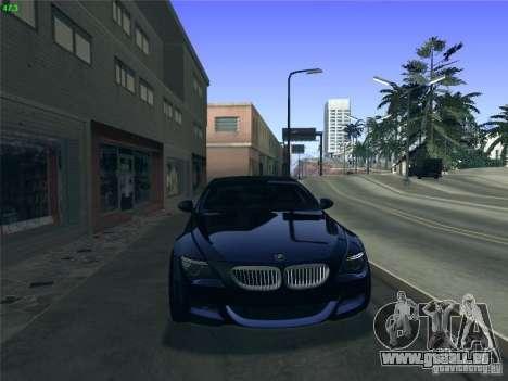 BMW M6 2010 Coupe für GTA San Andreas