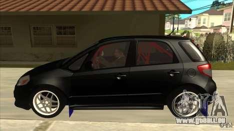 Suzuki SX4 Rally Tuning pour GTA San Andreas laissé vue