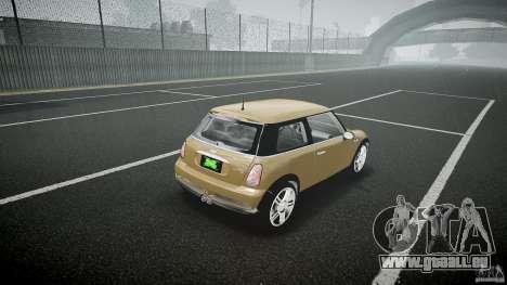 Mini Cooper S pour GTA 4 est un côté
