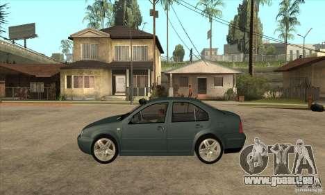 Volkswagen Bora-Golf für GTA San Andreas linke Ansicht
