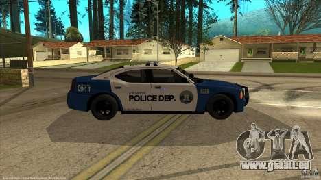 Dodge Charger Los-Santos Police für GTA San Andreas rechten Ansicht