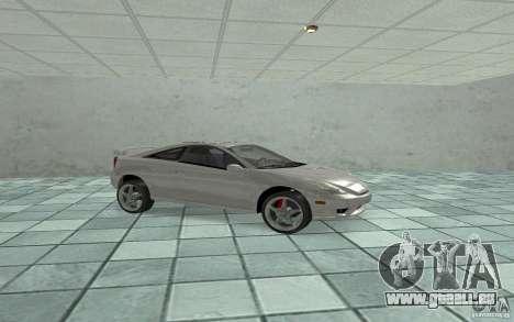 Toyota Celica pour GTA San Andreas laissé vue