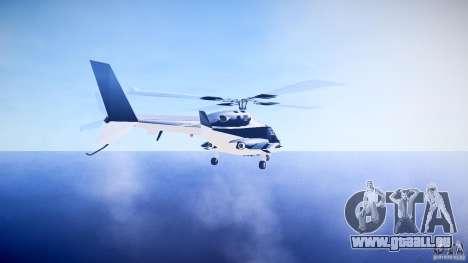 Airwolf v1.0 pour GTA 4 Vue arrière de la gauche