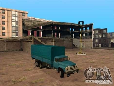 ZIL-133GÂ für GTA San Andreas rechten Ansicht