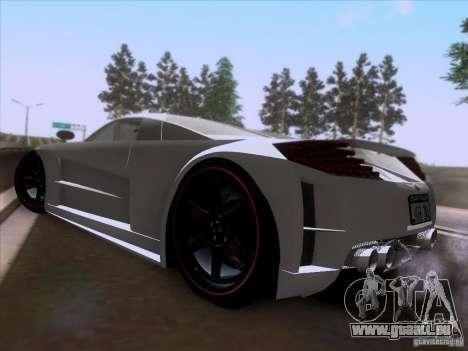 Chrysler ME Four-Twelve pour GTA San Andreas sur la vue arrière gauche