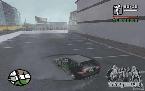 Honda Sivic dérive pour GTA San Andreas vue de droite