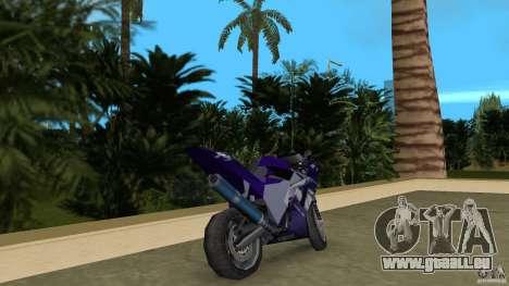 Yamaha YZF R1 pour GTA Vice City sur la vue arrière gauche